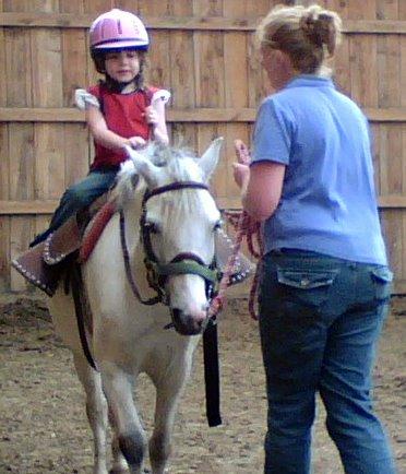 Dakota Riding Lesson 2