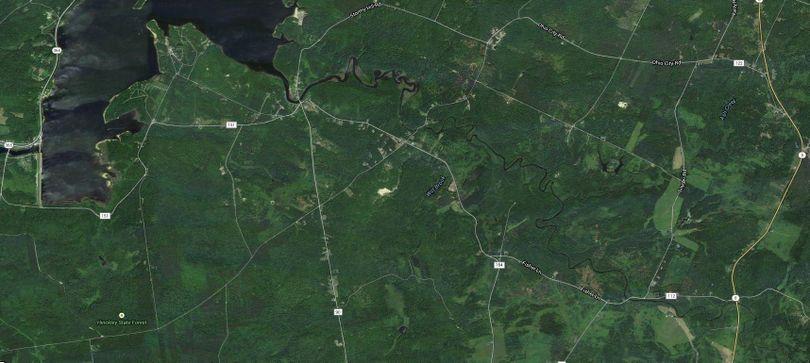 Little Black Creek map II