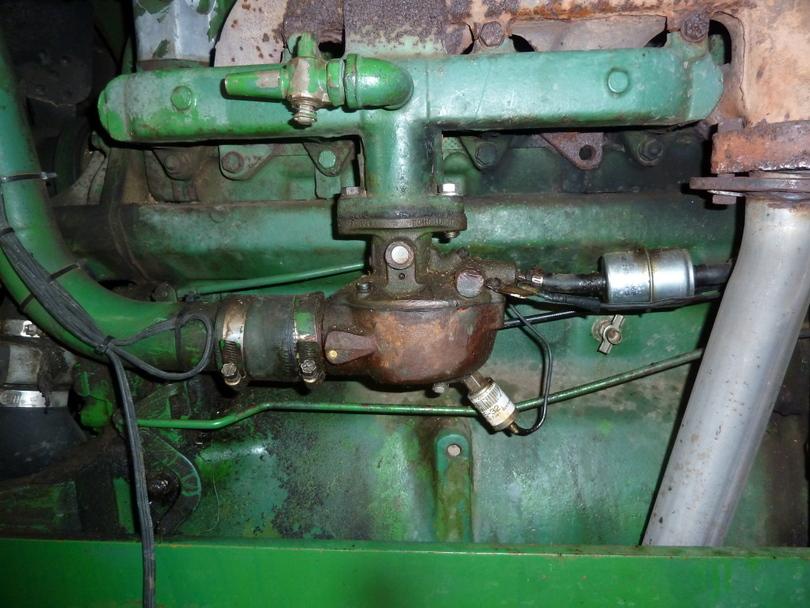 John Deere Tractor Carburetors : John deere carburetor « jim muller