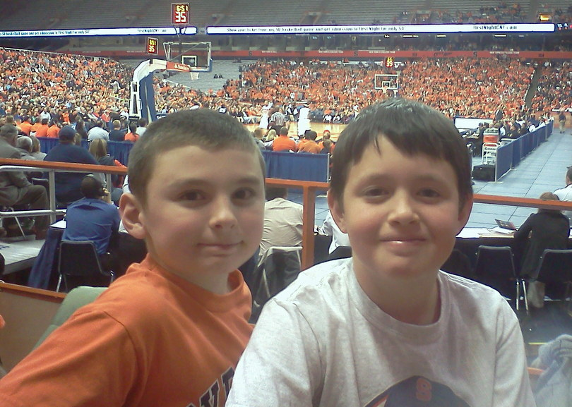 Trevor and Eric @SU Game
