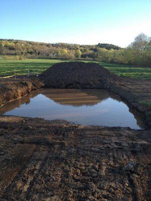 Finish Line Mud Pit