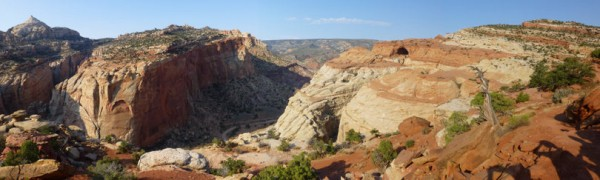Cassidy Arch Panoramic I (Utah Vacation)