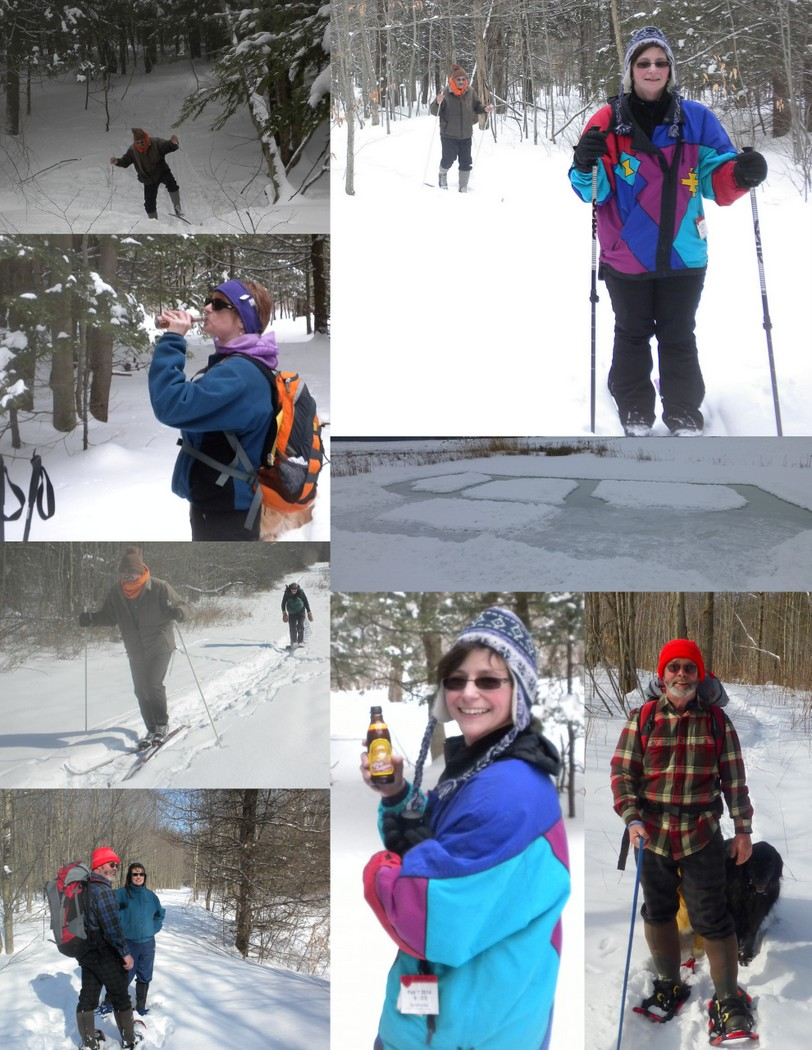 Snow Party Collage