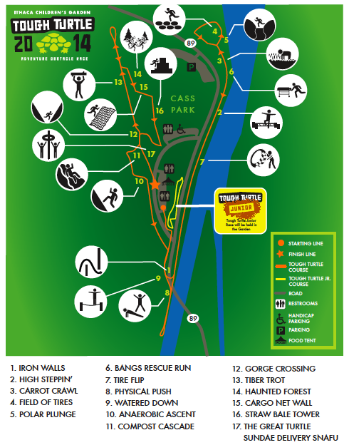 Tough Turtle Course Map