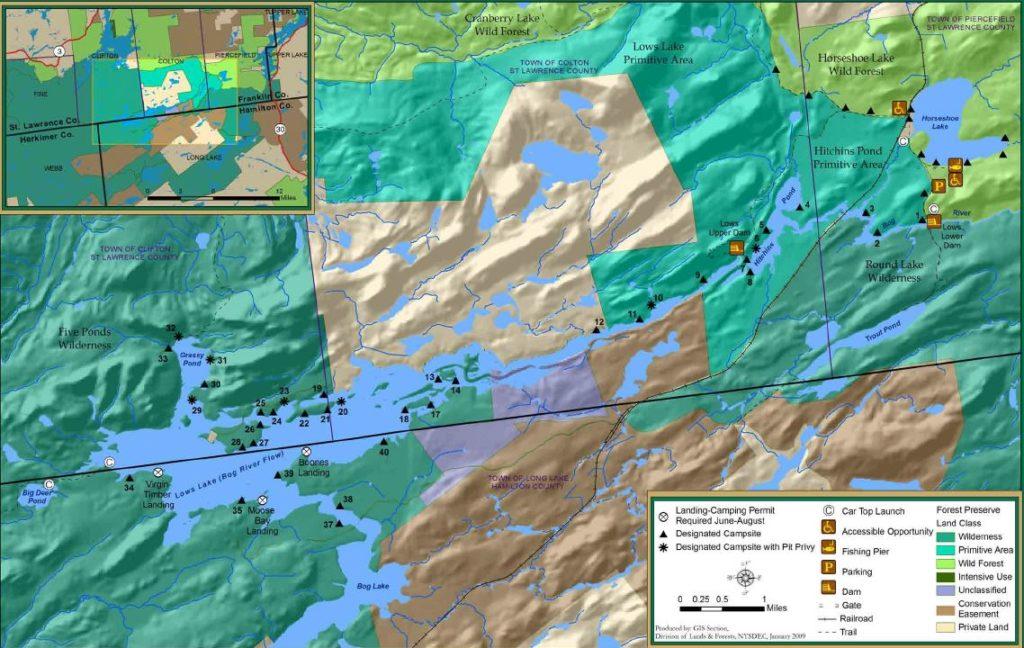 Little Tupper Lake to Lake Lila to Lows Lake « Jim Muller